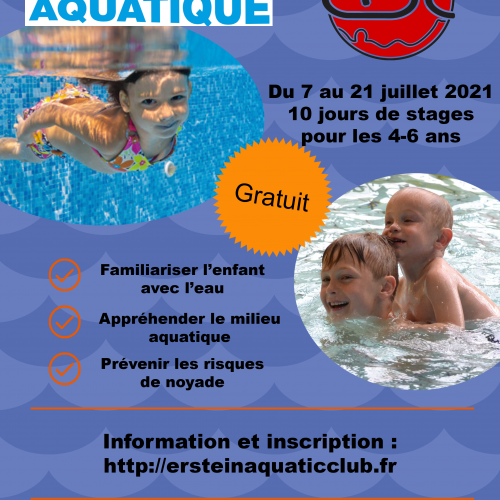 Plan d'aisance aquatique